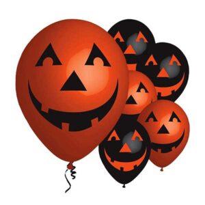 Smilende græskar halloween balloner