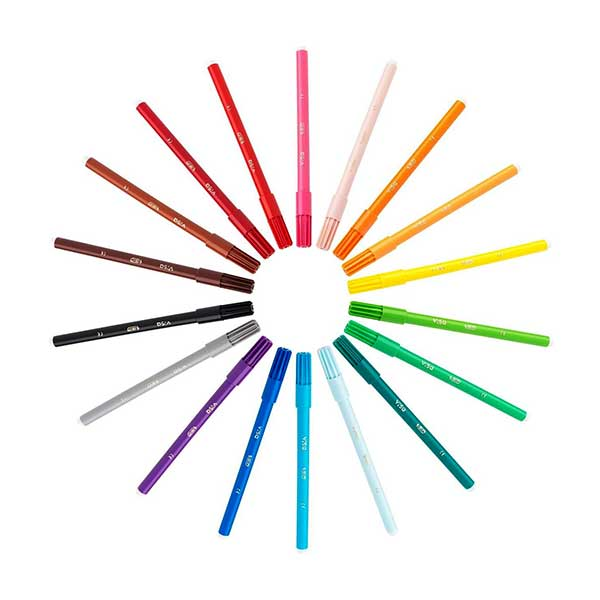 BIC tuspenne 15+3 farver