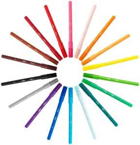 BIC farvetusser 15+3 farver