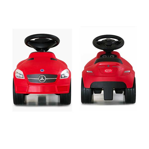 Rød gåvogn/mini bil Mercedes Benz SLK 55