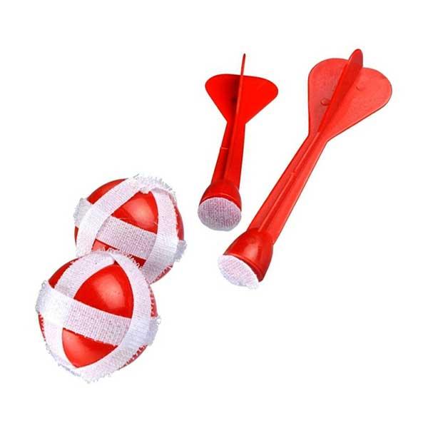Dartpile og bolde med velcro