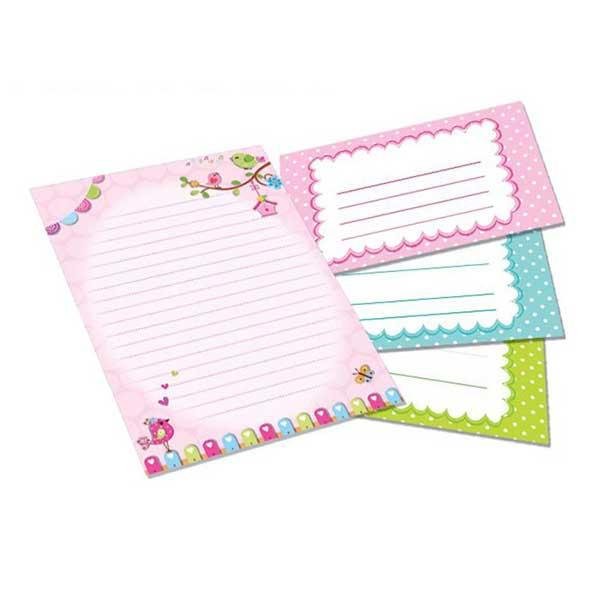 Sødt dagbogspapir til søde breve