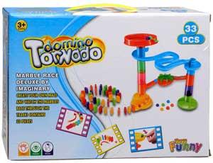 Domino Tornado kuglebane 33 dele