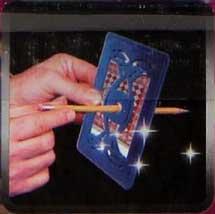 Magisk ramme til blyants trick