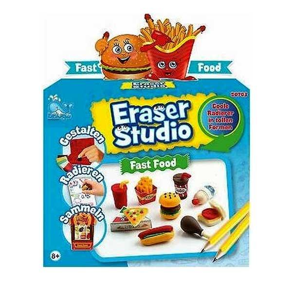 Eraser studio Fast food viskelæder