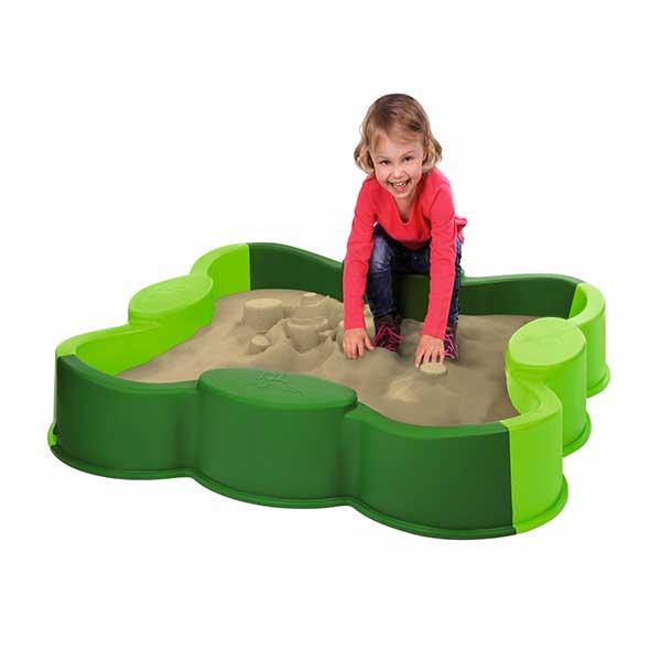 Sandkasse til haven med cover