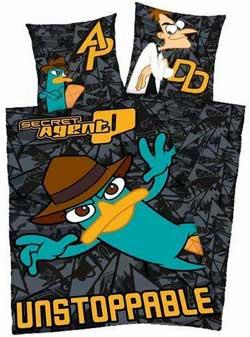 Phineas & Ferb Agent P sengetøj