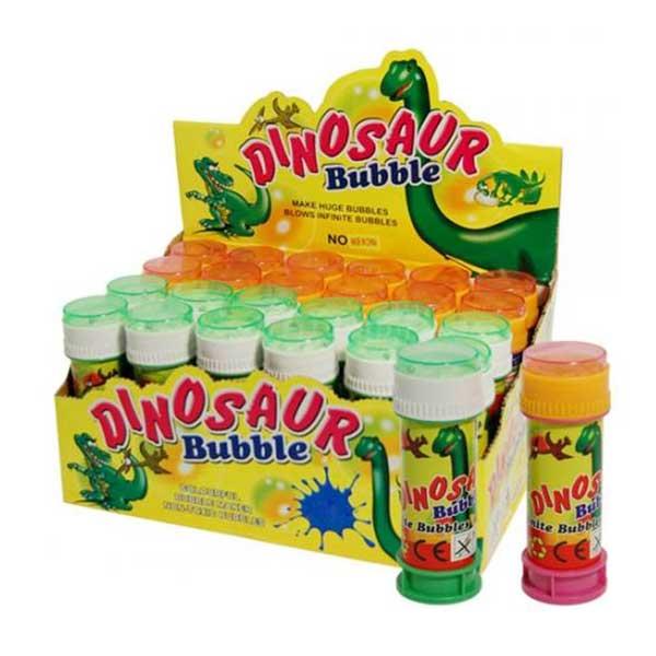 Sæbebobler engros med dinosaurer