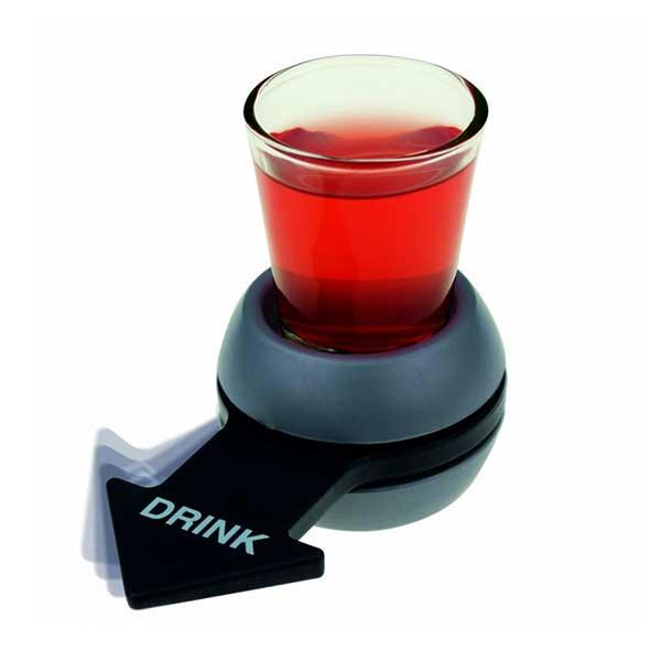 Shot spinner til drikkespil