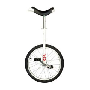"20"" QU-AX Ethjulet Cykel Hvid"