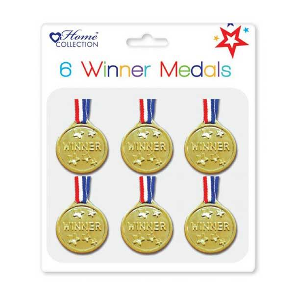 Winner medaljer til børn