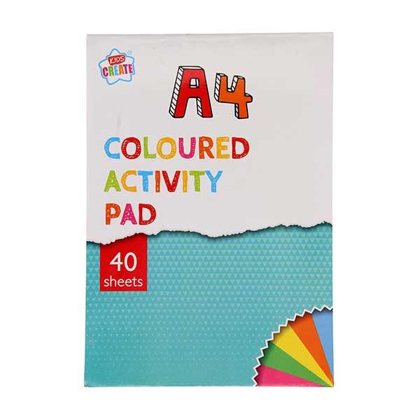 Kulørt A4 tegne og printerpapir