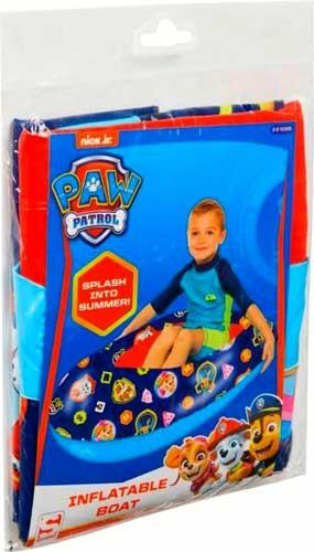 Paw Patrol blå gummibåd