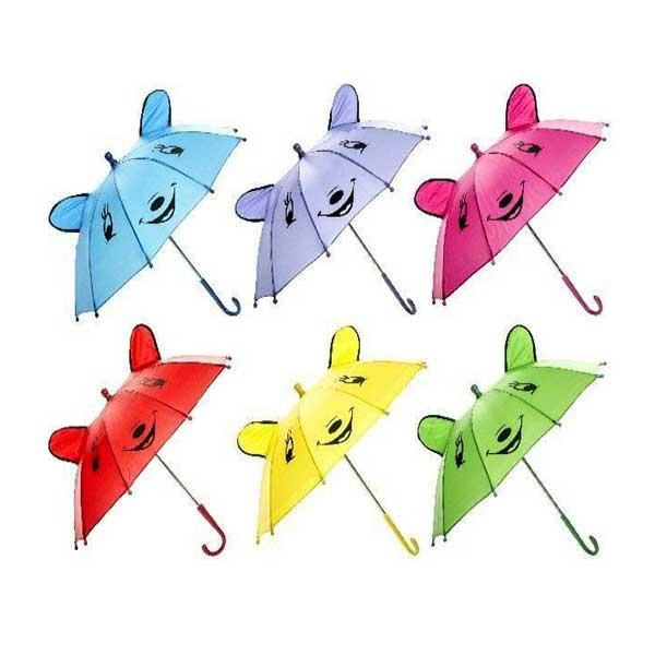Børneparaply med ører