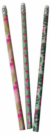 Flamingo blyant med viskelæder