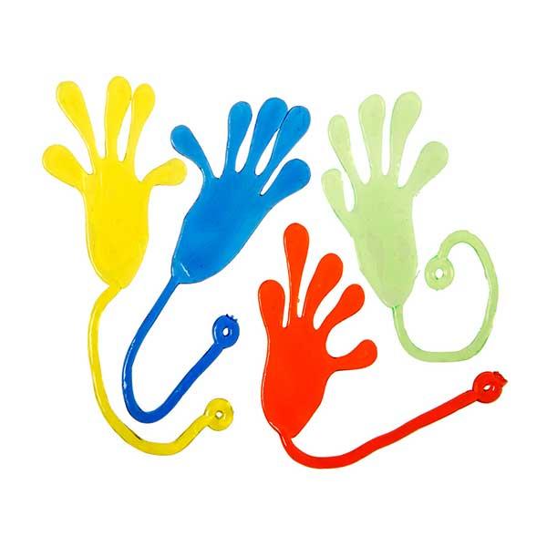 """Klister hænder """"Sticky hands"""""""