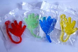 """Klister hånd """"Sticky hands"""""""
