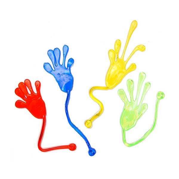 klister hånd, Sticky hand
