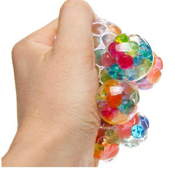 Stressbold, klemmebold med vandperler