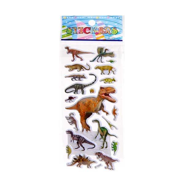 Dinosaur klistermærker, Dino stickers