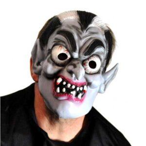 Halloween maske i fleksibel gummi