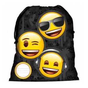 Emoji gymnastikpose mulepose