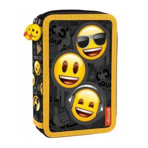 Emoji penalhus med indhold