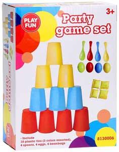 Spil og aktivitet til børnefest