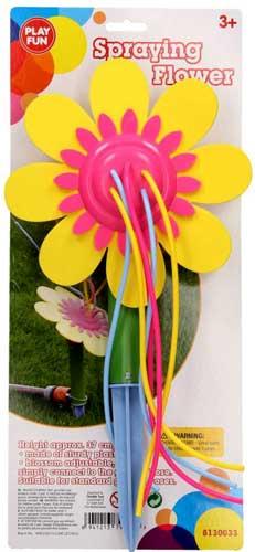 Blomst som sjov vandspreder