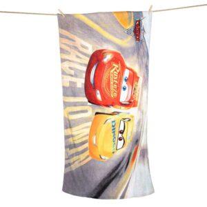 Cars badehåndklæde 70 x 140 cm
