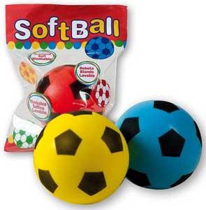Softball blød skum fodbold - 20 cm