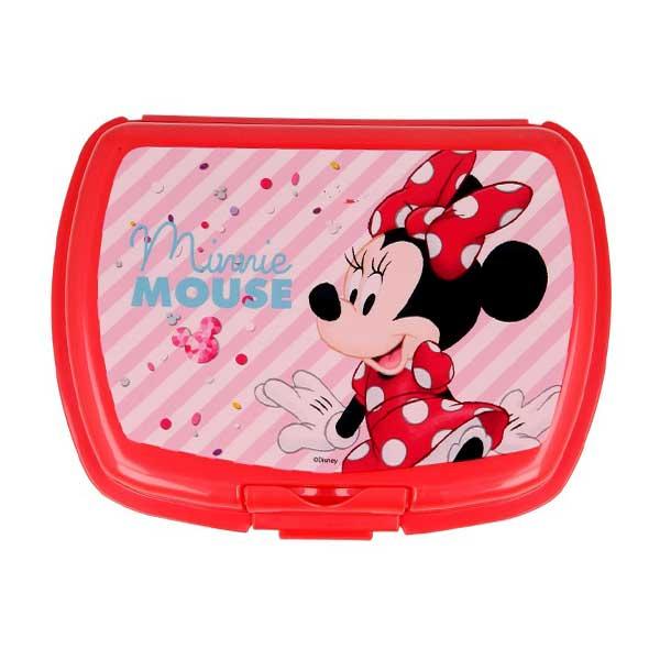 Minnie Mouse rød madkasse
