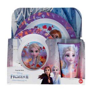 Frozen 3 delt spisesæt