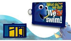 Disney Find Nemo pengepung med nøglering
