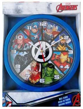 Avengers vægur til værelset