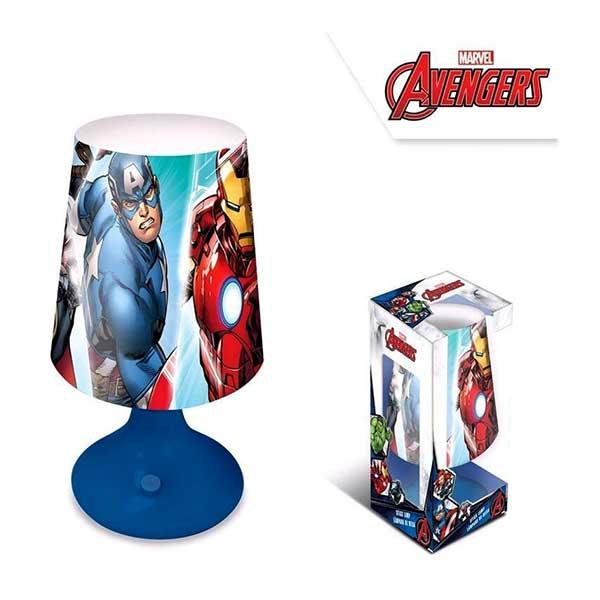 Avengers bordlampe - natlampe
