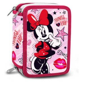 Stort Minnie Mouse penalhus