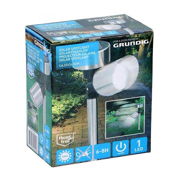 Grundig LED havelampe / udendørs lampe med LED spot