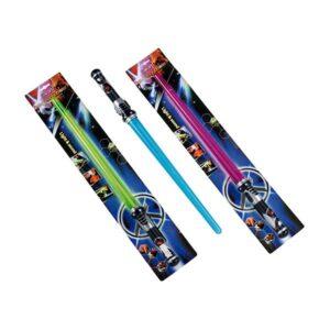 Star Wars laser sværd med lyd og lys