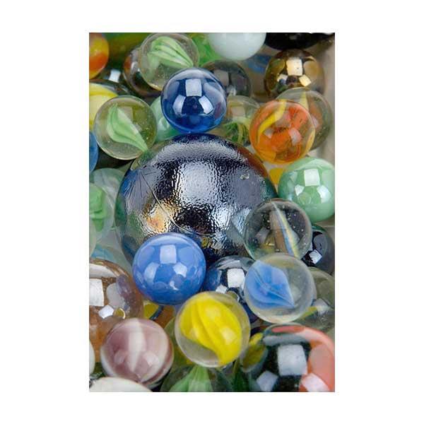 Marmor glaskugler 1 kilo