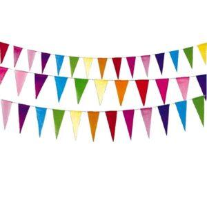 Snor med papirflags guirlande