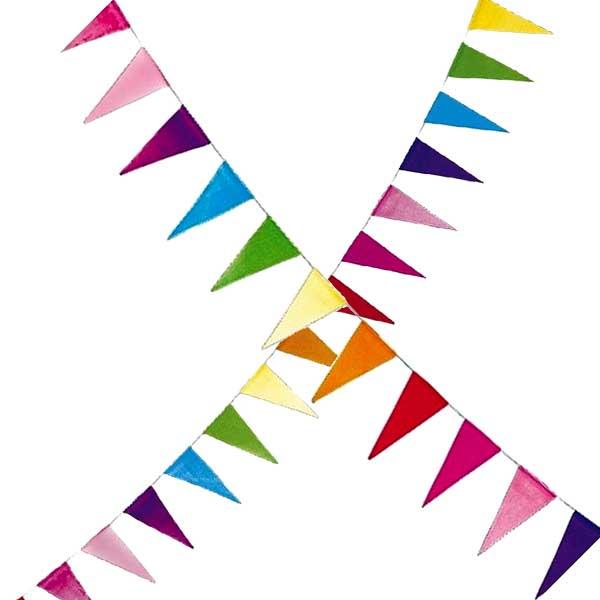 papirflags vimpel Guirlande