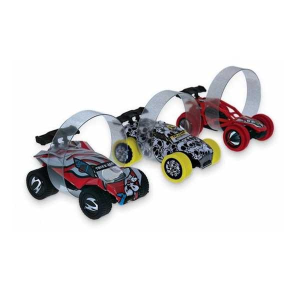 Trixx 360 graders rampe med 3 biler