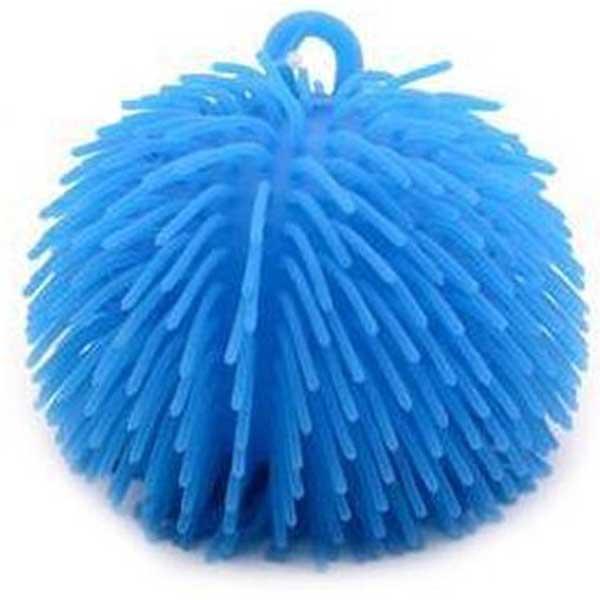 Fluffy bold 14 cm blå