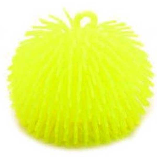 Fluffy bold 14 cm gul