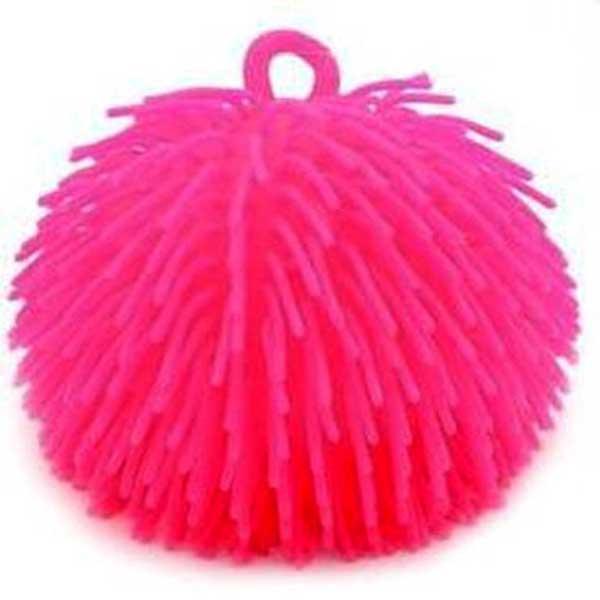 Fluffy bold 14 cm lyserød