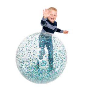 Stor glitter lege bold