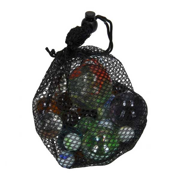 Marmorkugler glaskugler i net
