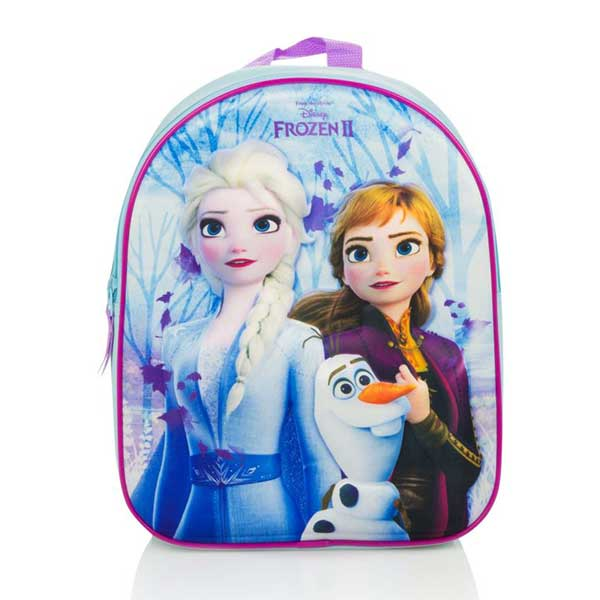 Frozen 2 Skoletaske 3D