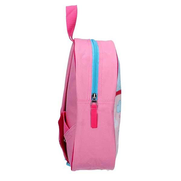Gurli gris lyserød rygsæk